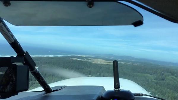 Landing at Newport