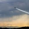 Blue Angels Fly Over Lake Washington
