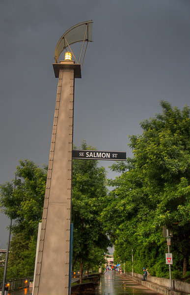 Salmon Street Walkway, Eastside Elsplanade