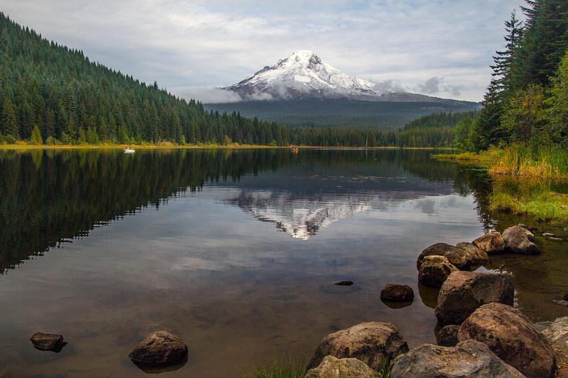 Mt. Hood Reflected in Trillium Lake