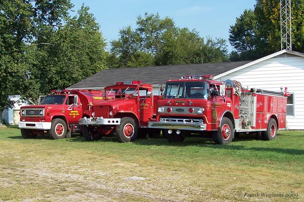 Former Onward Fire Apparatus Fleet 2009