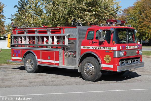 Tanker 6 - 1989 Ford C/1990 Darley – 500gpm/1800gal