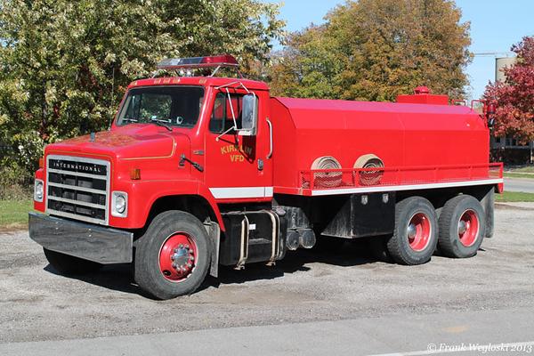 Tanker 63 - 1988 International/2005 Deep South – 200gpm/2750gal