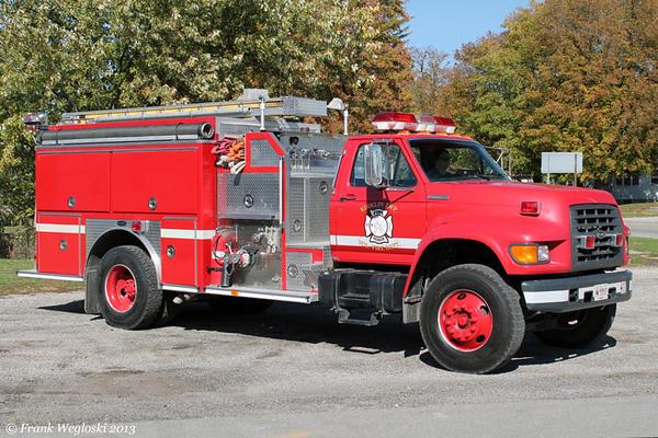 Engine 62 - 1996 Ford F-750/E-One Pumper (#17830) – 1250gpm/1000gal