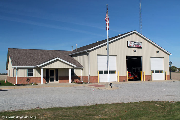 Madison Township Fire Station – State Road 38 – Mulberry, IN