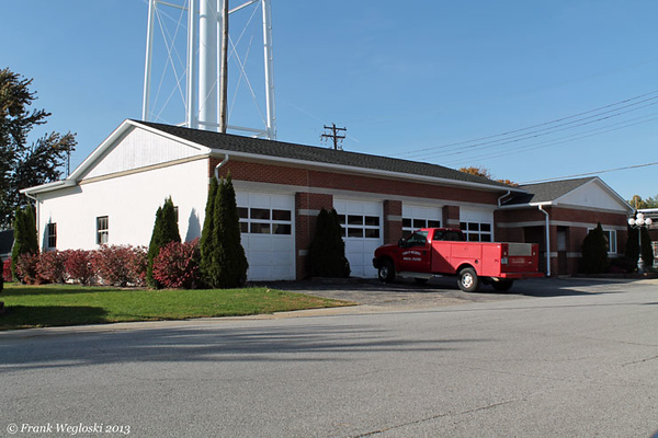 Former Madison Township Fire Station – S. Glick & West Perrin – Downtown Mulberry