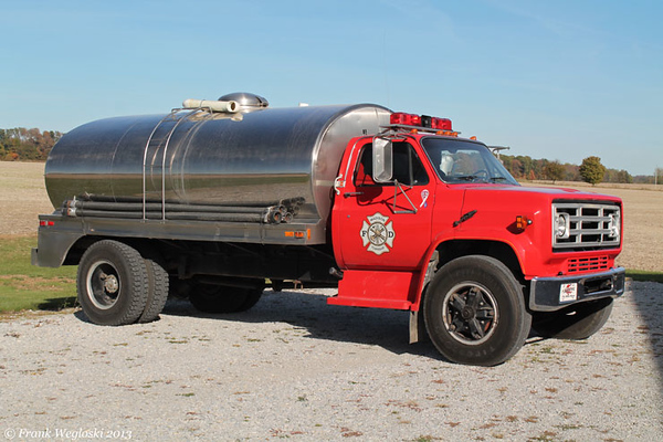 Tanker 11 - 1981 Chevy C70/1971 Walker Stainless - 2300gal