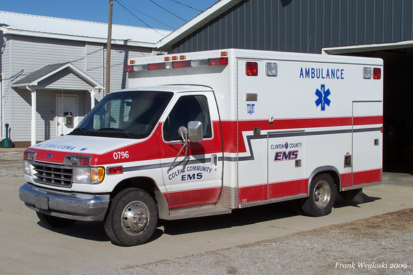 Ambulance 12 - 1995 Ford E-350/1996 McCoy Miller