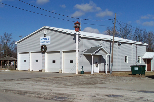 """""""The 12 House"""" - Perry Township Fire Station - Colfax"""