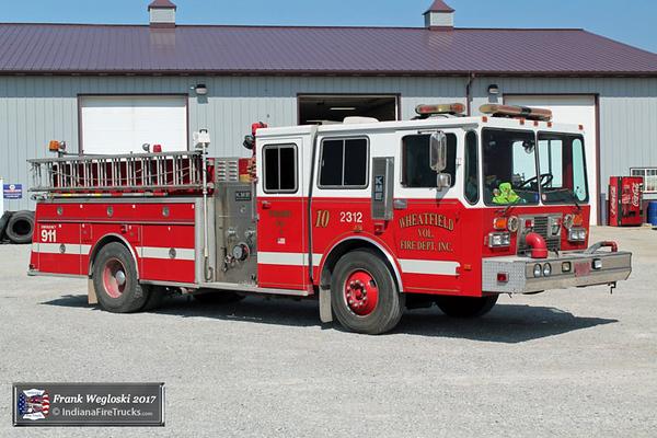 Engine 10 - 1989 KME Renegade Pumper – 1250gpm/750gal