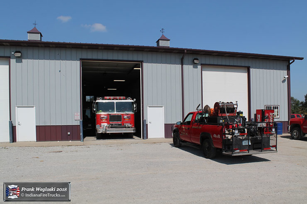 Station 2 - Commercial Drive and County Road N 575 W.