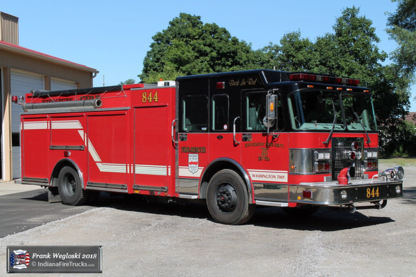 Engine 844 - 2003 Spartan/Alexis Pumper/Tanker - 1250gpm/1000gal
