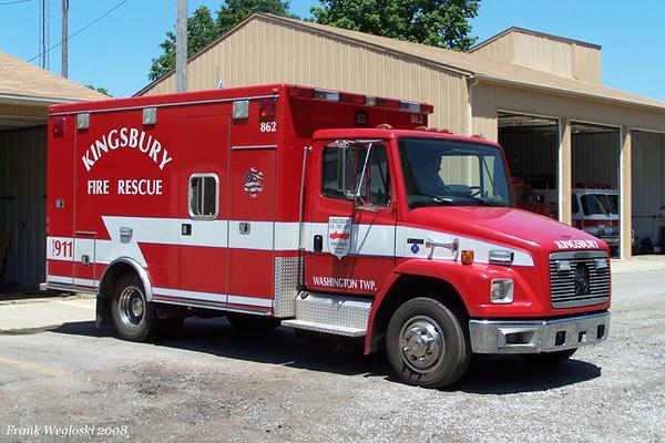 Rescue 862 - 1994 Freightliner FL60/Wheeled Coach/2004 FD