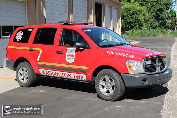Squad 860 - 2004 Dodge Durango - Medical QRV