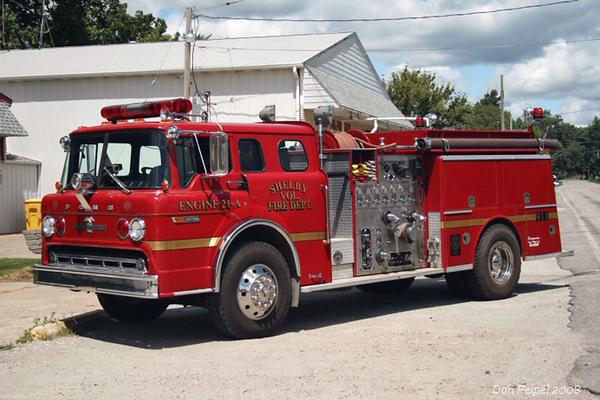 Engine 21-A - 1984 Ford/American LaFrance Pumper - 1000gpm/750gal
