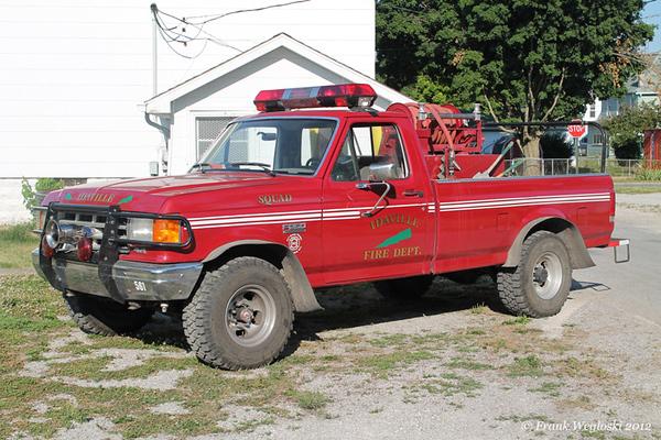 Squad 1 - 1987 Ford F250/2006 FD – 150gpm/300gal