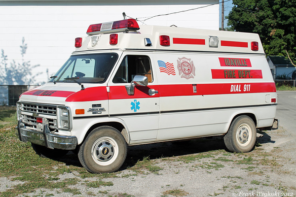 Former Truck 1 - 1988 Chevy CV30/Wheeled Coach Type II Medic First Response