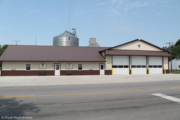 Wolcott Volunteer Fire and Ambulance Station – US-231 – Downtown Wolcott