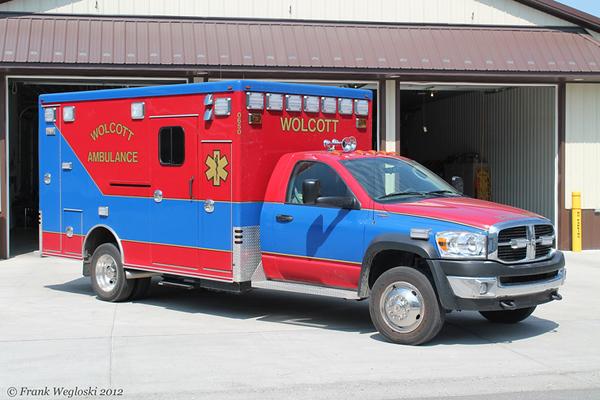 Ambulance 0650 - 2009 Dodge Ram 5500/2010 Marque Type I