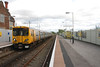 507 023<br /> <br /> Sits in the well used plat 1 <br /> <br /> That the Merseyrail services depart from <br /> <br /> While this pic gives you some idea how long the platforms are at Ellesmere Port
