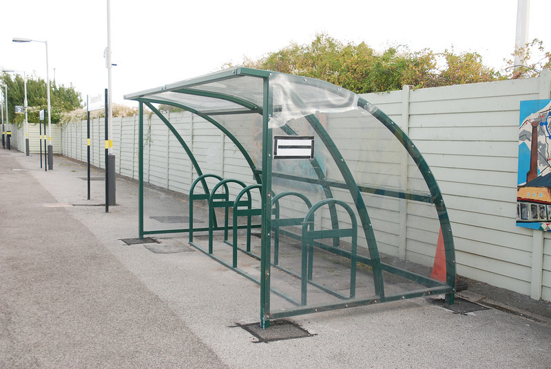 New Bike shelter as well