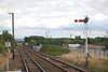 Looking towards Stanlow & Thornton and Helsby <br /> <br /> Ellesmere Port # 4 signal box is on the right in the distance
