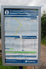 the onward travel poster that is now in place showing the lack of buses etc here