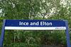 Northern sign on the platform although a bit battered like