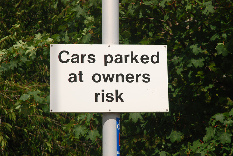 Thought this was funny not that i've ever seen any cars parked in the <br /> <br /> Car Park in all the years i been doing this line