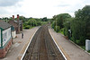 Helsby platforms 3 & 4 from the Footbridge looking towards Ince & Elton