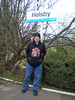 Ghost Station Man <br /> <br /> seminar on Plat 4 at Helsby awaiting the 15.17 to Ellesmere Port <br /> <br /> Date 22nd Feb 2013