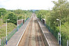Shot taken from the footbridge looking towards Ince & Elton
