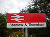 Stanlow & Thornton <br /> <br /> Liz Ghost Station # 16 <br /> <br /> GSM Ghost station # 9<br /> <br /> Address: <br /> <br /> Shell Oil Refinery<br /> <br /> Stanlow<br /> <br /> Cheshire<br /> <br /> CH2 4NU <br /> <br /> Northern Rail Timetable # 15<br /> <br /> WORD OF WARNING: <br /> <br /> I found this out only a few weeks ago May 2012 read below i found: <br /> <br /> THIS IS WITH REF TO GETTING OFF AT STANLOW & THORNTON <br /> <br /> AND  GOING FOR A WANDER!!! <br /> <br /> The station is located on Oil Sites Road which is <br /> <br /> NOW A PRIVATE ROAD OWNED BY SHELL & IS NOW CLOSED <br /> <br /> TO THE PUBLIC!! .<br /> <br /> Although as foot note here i have been here a few times and have <br /> <br /> had any problems from security etc but just thought i would pass on <br /> <br /> the warning  <br /> <br /> Shell cited increased commercial traffic to its refinery and the <br /> <br /> amount of public vehicles using the road, recklessly in some cases, <br /> <br /> as reasons for closure. Only vehicles and their occupants that have <br /> <br /> business at the refinery are now permitted to use the road.<br /> <br /> PLUS THIS:<br /> <br />  There are no bus or taxi services at this station due to the access <br /> <br /> restrictions.