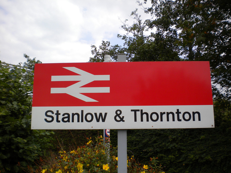 Stanlow & Thornton <br /> <br /> Liz Ghost Station # 16 <br /> <br /> GSM Ghost station # 9<br /> Address: <br /> <br /> Shell Oil Refinery<br /> Stanlow<br /> Cheshire<br /> CH2 4NU <br /> <br /> Northern Rail Timetable # 15<br /> <br /> WORD OF WARNING: <br /> <br /> i found this out only a few weeks ago May 2012 read below i found: <br /> <br /> THIS IS WITH REF TO GETTING OFF AT STANLOW & GOING FOR A WANDER!!! <br /> <br /> The station is located on Oil Sites Road which is NOW A PRIVATE ROAD OWNED BY SHELL & IS NOW CLOSED TO THE PUBLIC!! . <br /> <br /> Shell cited increased commercial traffic to its refinery and the amount of public vehicles using the road, recklessly in some cases, as reasons for closure. Only vehicles and their occupants that have business at the refinery are now permitted to use the road.<br /> <br /> PLUS THIS:<br /> <br />  There are no bus or taxi services at this station due to the access restrictions.