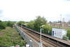 Shot taken from the footbridge with the Helsby bound platform on the Left and the Ellesmere Port bound platform on the right