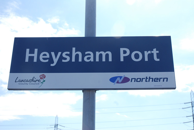 "Heysham Port <br /> <br /> Liz Ghost Station # 8<br /> <br /> GSM # 30 <br /> <br /> Address: <br /> <br /> Station Road<br /> <br />  Heysham<br /> <br />  Lancashire<br /> <br />  LA3 2XE <br /> <br /> Northern Rail Timetable # 7<br /> <br /> There is according to the location poster on the station no bus <br /> <br /> service to this station what so ever!!!<br /> <br /> Also as it says at the top theres a reversal at Morecambe (which <br /> <br /> reminded me of when i did the Cornish branch lines) After reversal at <br /> <br /> Morecambe the train comes back out of Morecambe then swings <br /> <br /> right then the Driver stops and has to get down and work the Ground <br /> <br /> frame to get access onto the single track branch to Heysham Port.<br /> <br /> Unusually Heysham Port Station is not owned by Railtrack but <br /> <br /> belongs to  Heysham Port Ltd you get off here for the Ferry to the <br /> <br /> Isle of Man<br /> <br /> For More Details about the Ferry from Heysham Port check out this <br /> <br /> Link: <br /> <br /> <a href=""http://www.steam-packet.com/"">http://www.steam-packet.com/</a>"