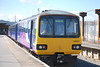 144016 <br /> <br /> sits in the only usable platform at Heysham Port the Ferry Terminal <br /> <br /> can be seen in the Background at the end of the Platform apart from <br /> <br /> that there to be honest wasnt much here really
