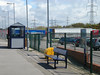 Picture by Liz <br /> <br /> Unlike some Ghost Stations that we have been to your lucky if you <br /> <br /> get one bench if that!!! but at Heysham Port you get the luxury of <br /> <br /> two Benches to sit on the other is hidden behind the top end of the <br /> <br /> shelter that the gaiurd was sitting on soaking up the sunshine while <br /> <br /> waiting time for the trip back to Lancaster