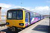 144016 <br /> <br /> Sits in the Platform at Heysham Port waiting to work back on the <br /> <br /> 13.15 to Leeds Ghost Train