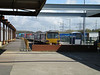 Picture by Liz:<br /> <br /> Spinning around 360 degress from the previous shot that i took this <br /> <br /> shot shows the station looking towards Morecambe with the old <br /> <br /> abandonded platform on the left and 144016 on the right waiting to <br /> <br /> leave for Leeds on the 13.15 departure