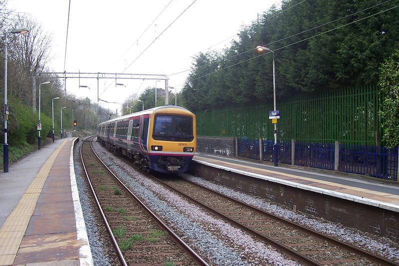 323 231<br /> <br /> Location <br /> <br /> Styal Crewe bound Platform <br /> <br /> Date: <br /> <br /> 12th April 2007 <br /> <br /> Working:<br /> <br /> 17.33 Man Picc - Crewe