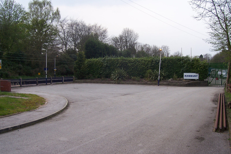 Station Car Park on the Crewe Bound Line