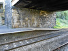 pic by Liz <br /> <br /> Looking across at the end of the Bolton line Platform and the Road over bridge