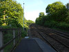 Pic by Liz <br /> <br /> Looking towards Manchester from the Manchester bound platform. <br /> <br /> As said before the platforms used to extend a lot<br /> <br />  further in days <br /> <br /> gone by