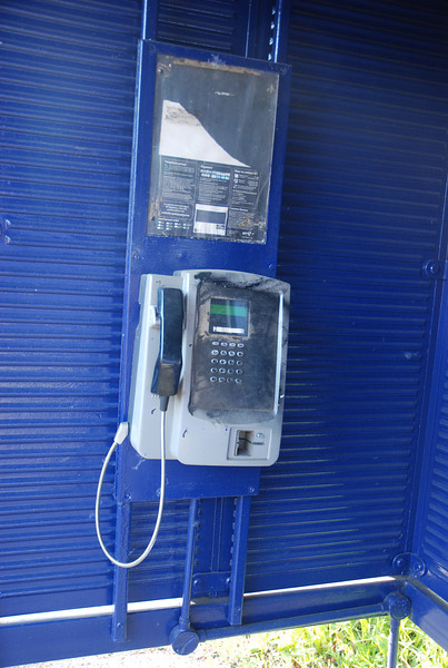 The classic<br /> <br /> Ghost Station Phone where you meant to be able to contact somebody for travel info!! <br /> <br /> Well check out the next few pics for what happened