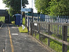 pic by Liz <br /> <br /> taken just passed the entrance gate looking towards Bolton on the Manchester bound platform