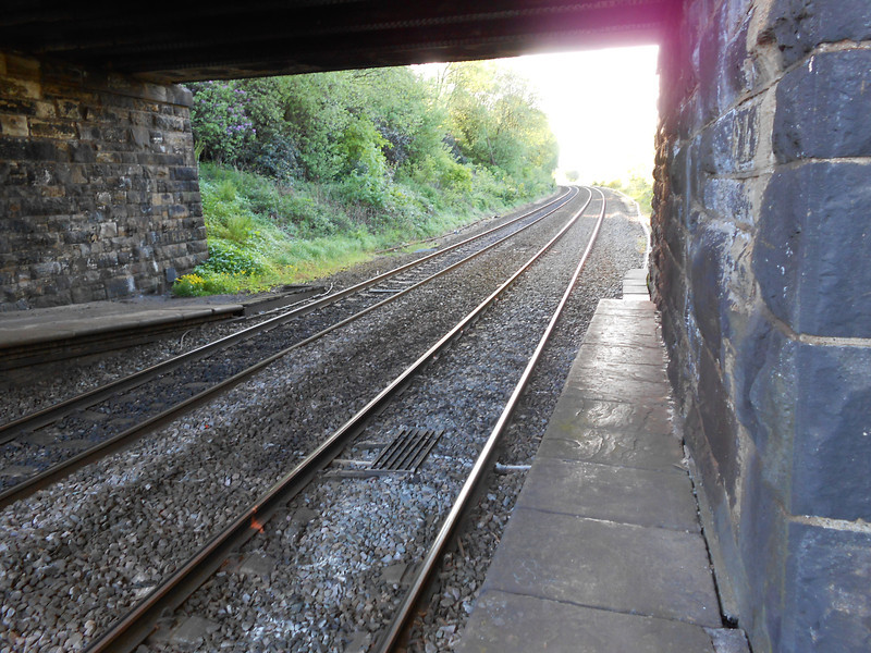 PIc by Liz <br /> <br /> of the end of the platform looking towards Bolton
