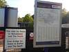 Pic by Liz <br /> <br /> of the network Map that prob hardly gets looked at and info signs on the Manchester Bound Platform