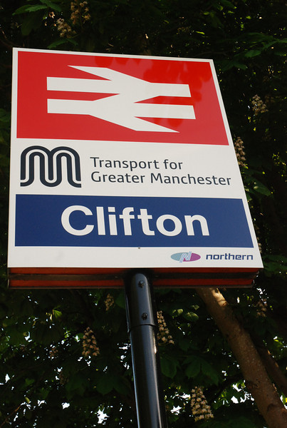 """Now annoyingly they have changed the old GMPTE sign for a new <br /> <br /> one i was hoping that the old GMPTE sign would still be here <br /> <br /> It was still here when the StationMaster visited Clifton in 2011 <br /> <br /> His write up on his Blog can be seen here <br /> <br /> <a href=""""http://thestationmaster.wordpress.com/2011/08/27/clifton-suspense/"""">http://thestationmaster.wordpress.com/2011/08/27/clifton-suspense/</a>"""