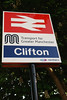 "Now annoyingly they have changed the old GMPTE sign for a new <br /> <br /> one i was hoping that the old GMPTE sign would still be here <br /> <br /> It was still here when the StationMaster visited Clifton in 2011 <br /> <br /> His write up on his Blog can be seen here <br /> <br /> <a href=""http://thestationmaster.wordpress.com/2011/08/27/clifton-suspense/"">http://thestationmaster.wordpress.com/2011/08/27/clifton-suspense/</a>"